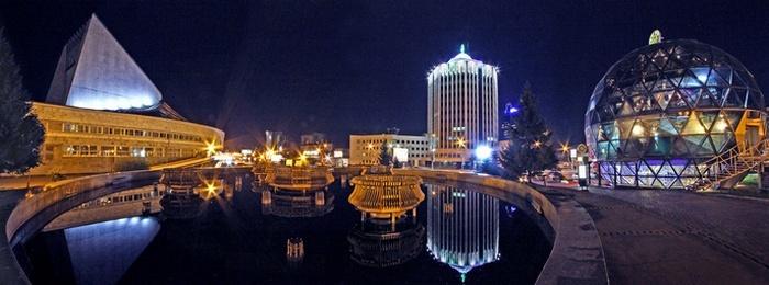 ...Я люблю тебя, мой милый город, мой Новосибирск родной!/Фото: alfaed.ru