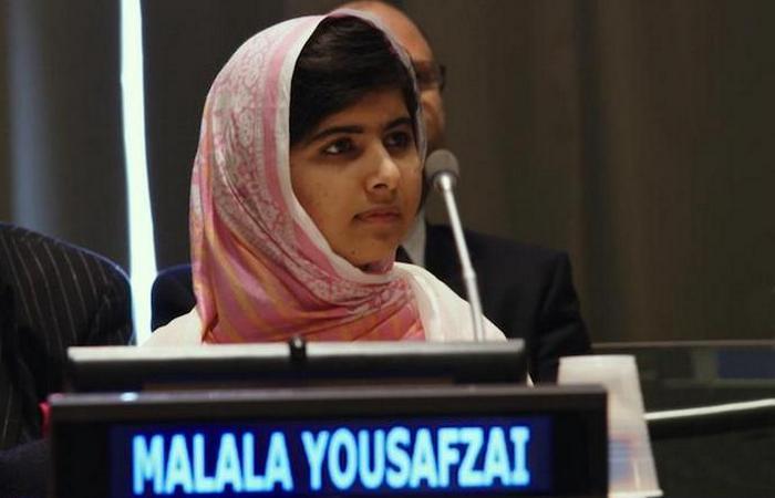 Юсуфзай Малала - боролась за права детей и женщин.