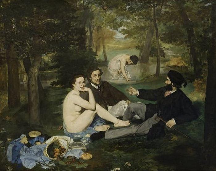 Картина «Завтрак на траве», худ. Эдуард Мане.
