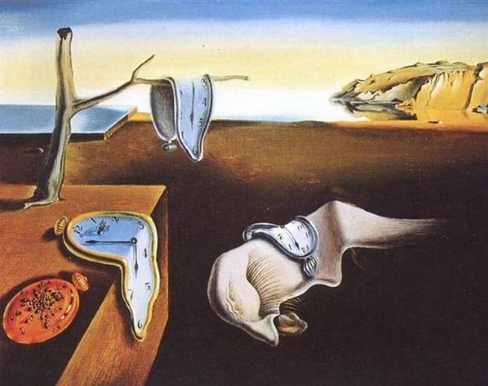 Картина «Постоянство памяти», худ. Сальвадор Дали.