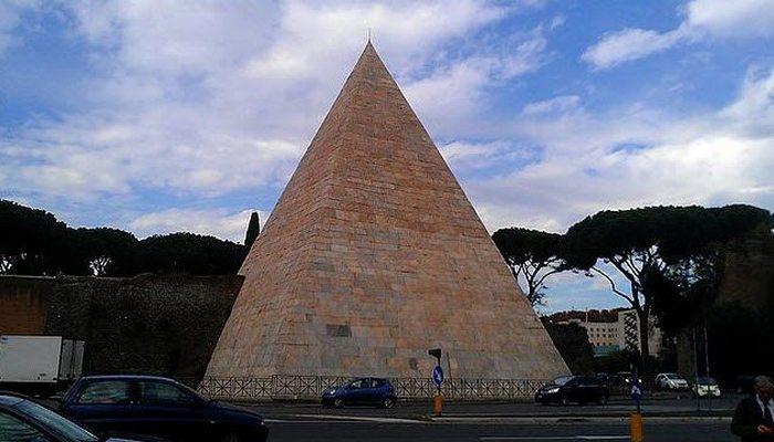Малоизвестная «Пирамида Цестия».