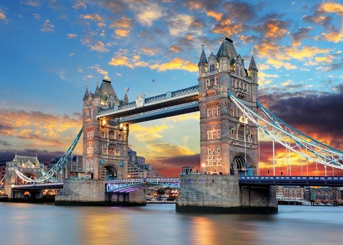 Тауэрский (Лондонский) мост./ Фото: oknamedia.ru