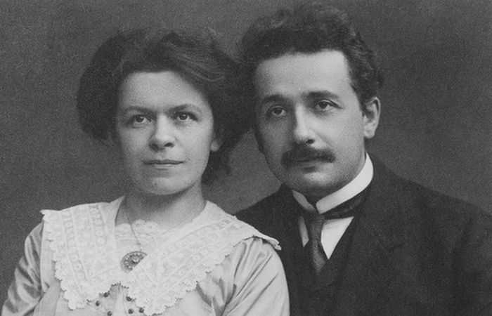 Альберт и Милева Эйнштейн./ Фото: domath.ru