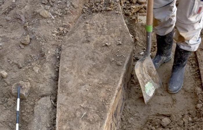 Одна из первых могил Филадельфии./ Фото: cbc.ca