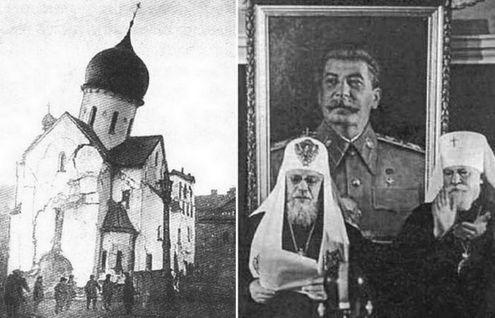Обращение служителей Церкви к красноармейцам./ Фото: tayni.info