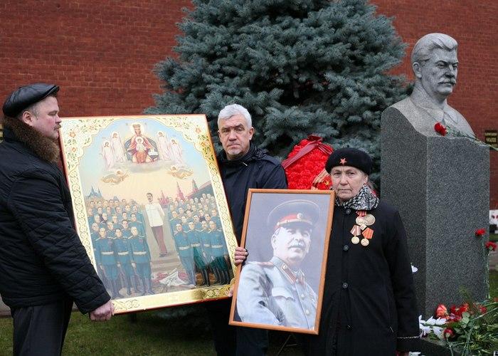 Псевдокоммунистический парадокс: «Святой» Вождь./ Фото: bryansku.ru