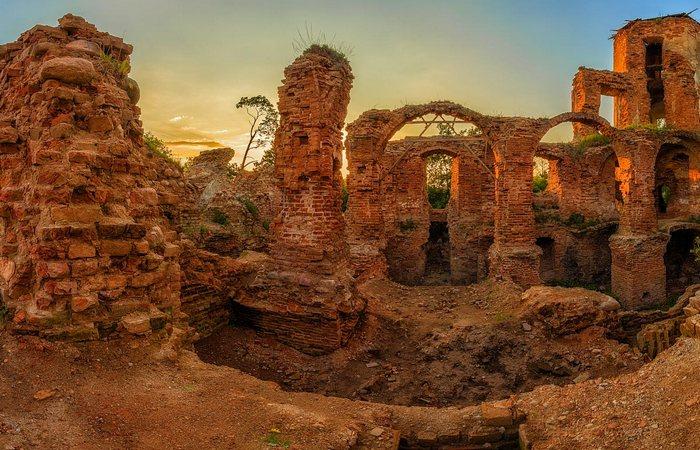 Руины Гольшанского замка./ Фото: tvoiregion.by