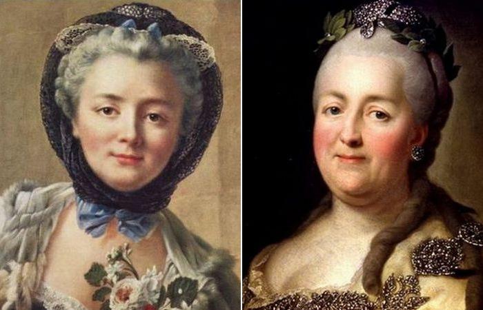 Дарья Салтыкова и Екатерина II./ Фото: politvesti.com