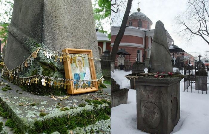 Могила Салтычихи в Донском монастыре./ Фото: rivage.ru