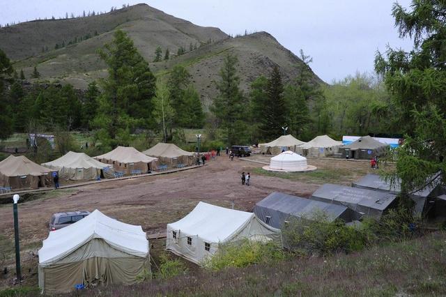 Лагерь швейцарских археологов./ Фото: tuva.asia
