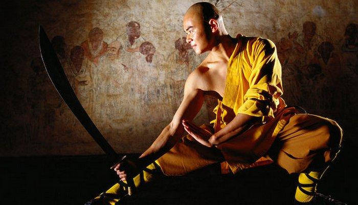 Шаолиньский монах.