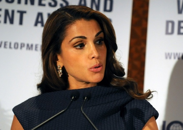 Восточная красавица Рания Аль Абдулла./ Фото: blacklist-tv.net