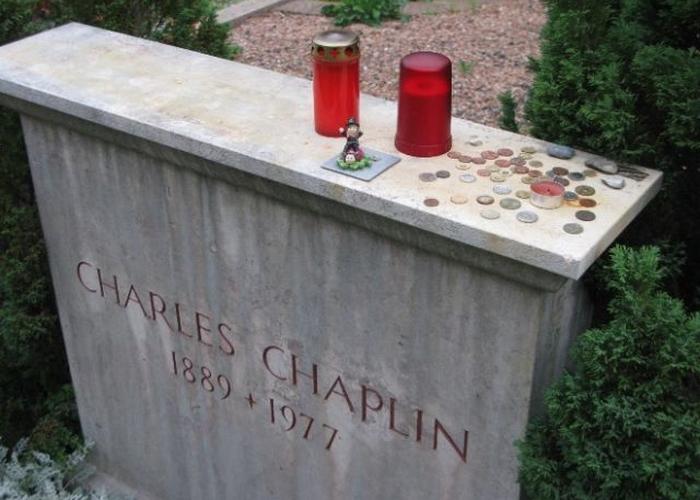Посмертное похищение Чарли Чаплина./ Фото: myhistori.ru