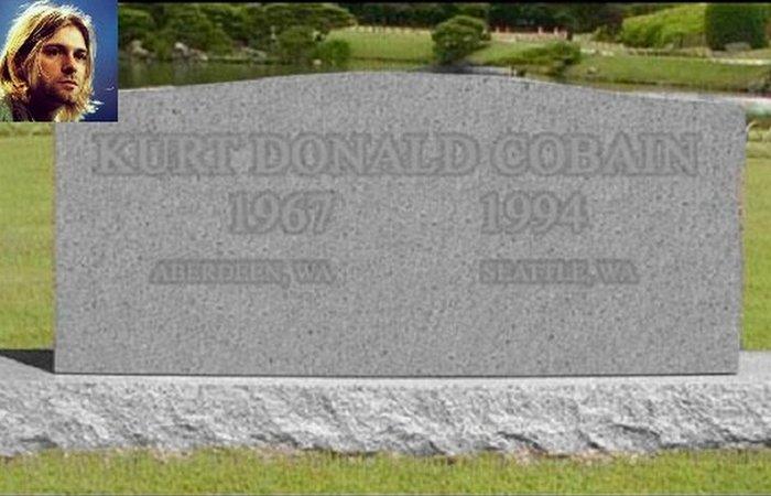 Посмертное похищение Курта Кобейна./ Фото: 24smi.org