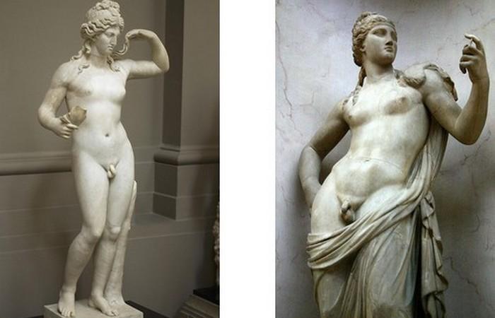 Странноватая богиня Афродита.