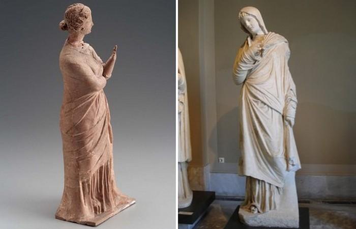 Странноватая богиня Пудицития.