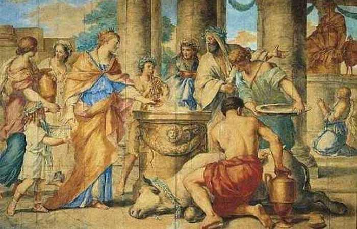Странноватая богиня Юнона Вириплака.