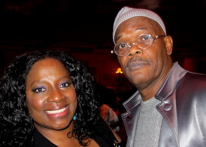 Крепкая семья: Сэмюэл Л. Джексон и Ла Татьяна Ричардсон./ Фото: zimbio.com