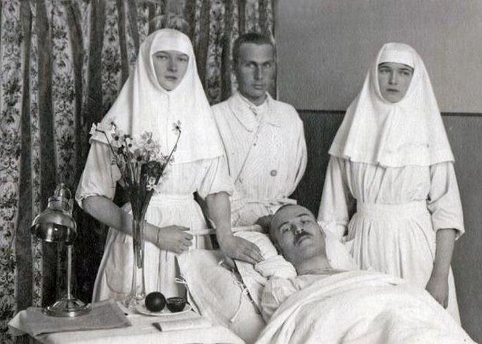 Великая княгиня - сестра милосердия./ Фото: fashiony.ru