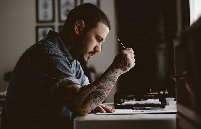 Татуировка и страх смерти.
