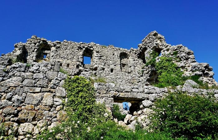 Мангуп - столица княжества Феодоро.