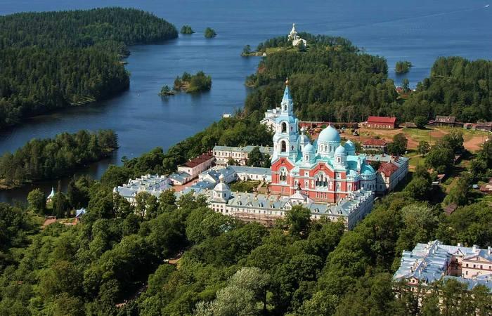 Остров Валаам в Карелии./ Фото: topkin.ru