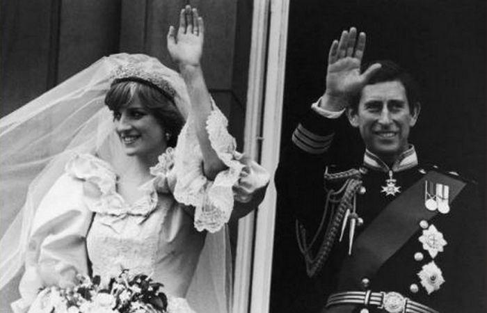 Принц Чарльз и Диана.
