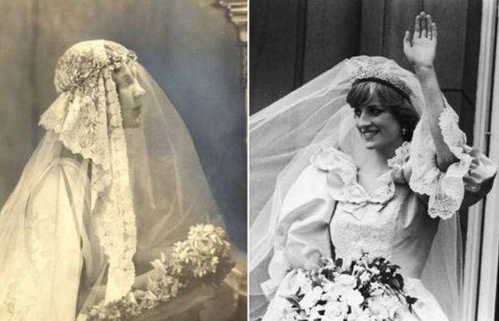 История свадебной вуали.