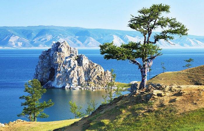 Семь чудес света: озеро Байкал.