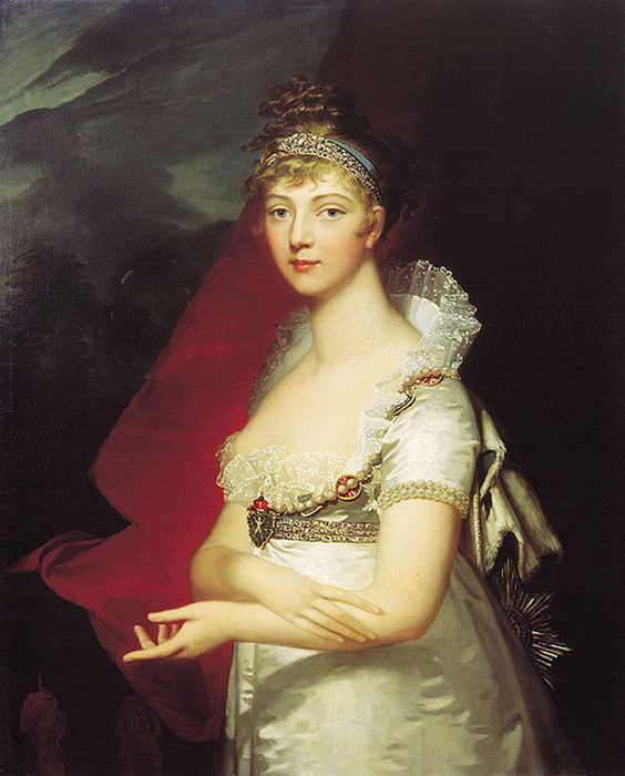 Портрет императрицы Елизаветы Алексеевны, 1807 год