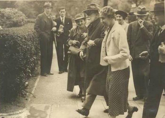 Прибытие Фрейда в Лондон, 1938 год