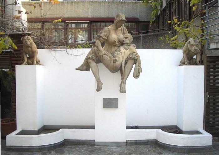 Скульптура, посвященная Наполеону