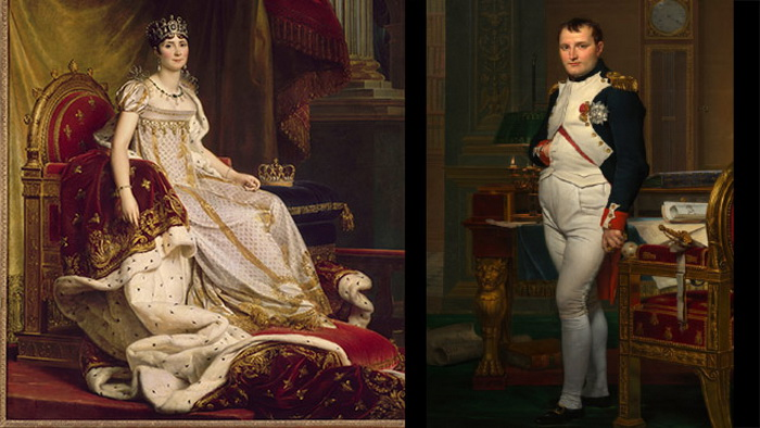 Жозефина и Император Наполеон (1812)