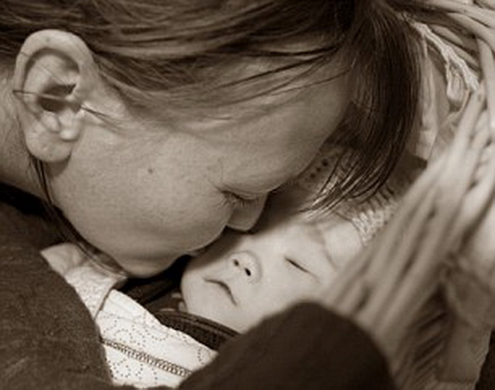 Портрет матери и ребенка