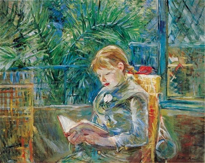 Берта Моризо «Чтение», 1888