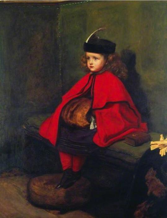 Дж.Э.Милле «Моя первая проповедь», 1863