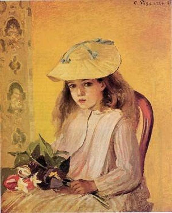 Писсаро «Портрет Жанны Рейчел», 1872
