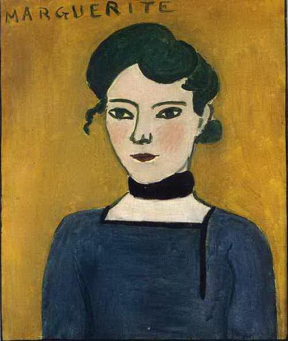 А.Матисс «Маргарита», 1906