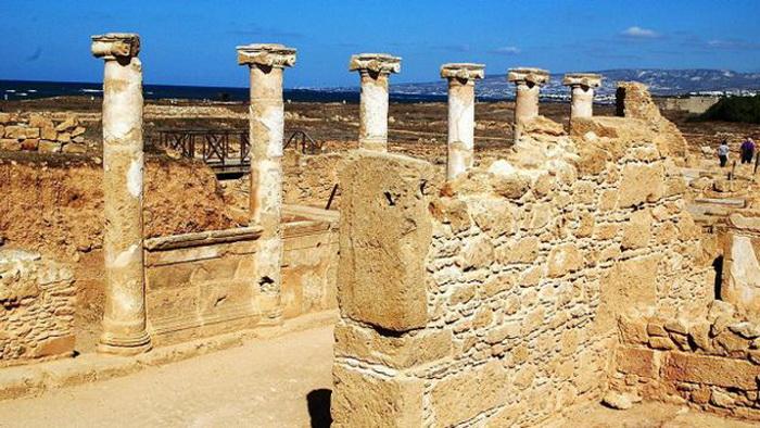 Храм Афродиты в Неа-Пафосе