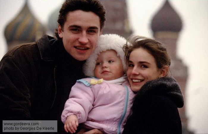 Семья спортсменов. Рождение дочери - Дарьи