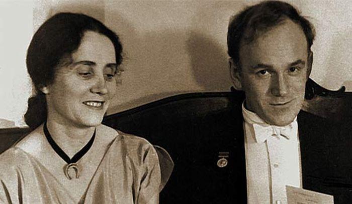 Святослав Рихтер и Нина Дорлиак. / Фото: www.1tv.ru