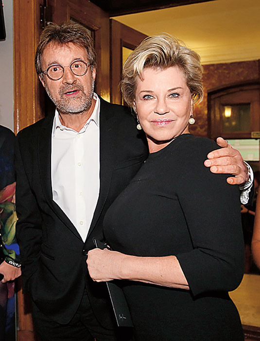 Леонид и Оксана Ярмольник. / Фото: www.eg.ru