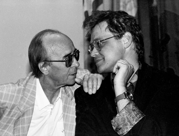 Отец и сын Борисовы. / Фото: www.borisovborisov.ru
