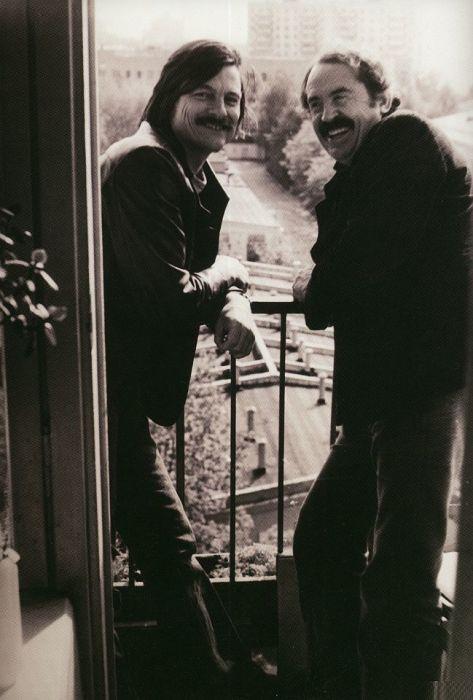 Тонино Гуэрра и Андрей Тарковский. / Фото: www.kino.filmz.ru
