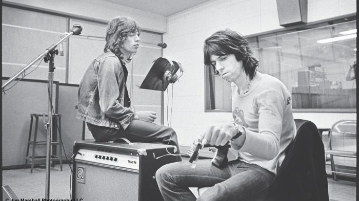 Кит Ричардс и Мик Джаггер. / Фото: www.imguol.com