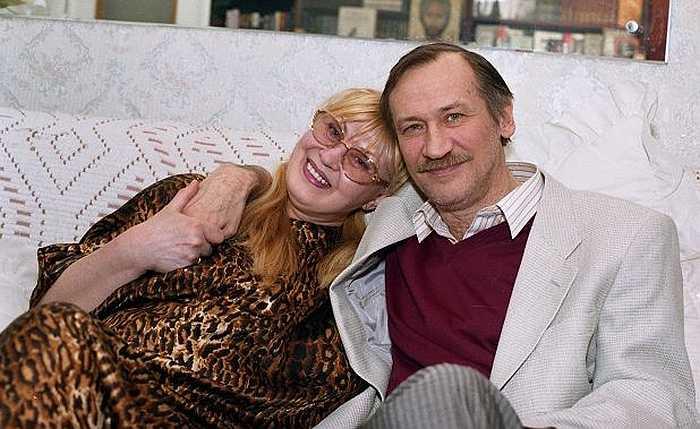 Леонид Филатов и Нина Шацкая. / Фото: www.newstik.ru