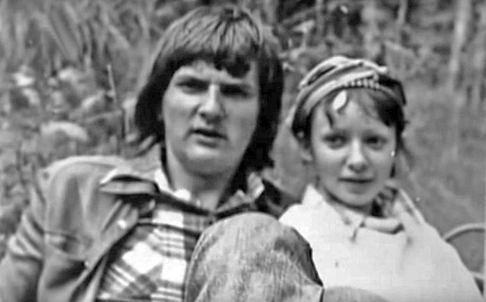 Татьяна и Юрий Аксюта в молодости. / Фото: www.domashniy.ru