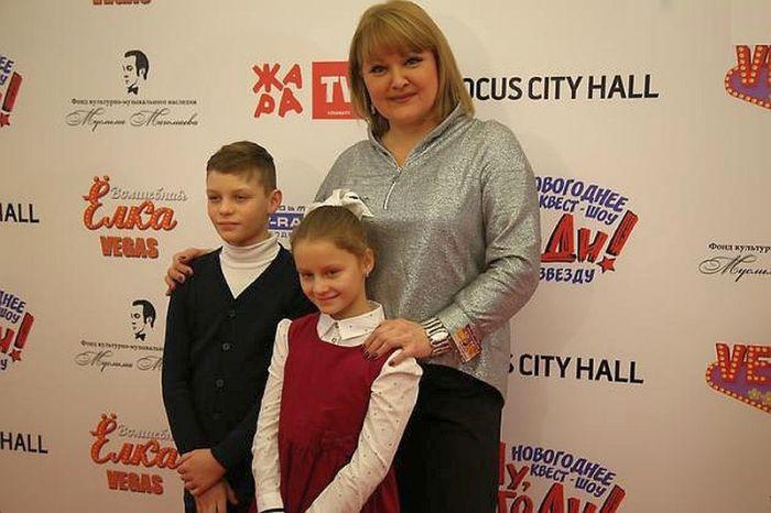 Маргарита Суханкина с детьми. / Фото: www.otdihe.ru