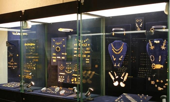 Если бы боспорское золото не было утрачено, оно бы и сейчас украшало один из выставочных залов Керченского историко-археологического музея. / Фото: www.grifon-tur.ru