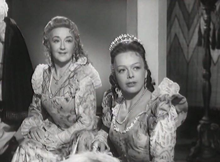 Кадр из фильма-спектакля «Учитель танцев», 1952 год. / Фото: www.kinokopilka.pro